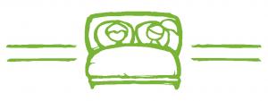 Wir lieben guten Schlaf