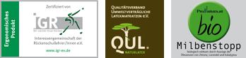 Zertifzierungen der ProNatura-Produkte
