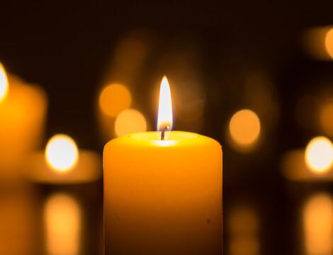 Licht Schlaftipp Kerzenlicht